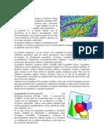 Geodesia, geometria, geotermia