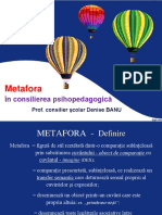 Metafora in Consilierea Psihopedagogica