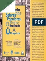 Economia Dos Setores Populares - Entre a Realidade e a Utopia