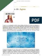 ¿Qué Es Agua_ - Su Definición, Concepto y Significado