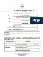 Modelo de Informe de Actividades Notarios Electorales. ELECCIONES JUDICIALES-1 (1)