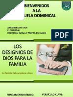Los Designios de Dios Para La Familia Normal