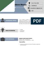 Curriculum Vitae Format IVAN CALDERON