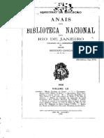 Anais Blibioteca Nacional