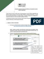 Instructivo Portal Financiero