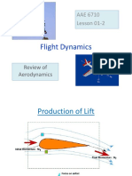 Review of Aerodynamics