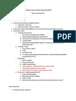 Training of Trainer Surveyor Internal Akreditasi