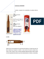 Partes Del Cartucho Balística Uuuccc 23434