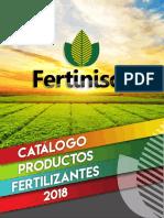Catalogo Productos Fertilizantes Fertinisol
