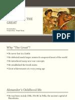 Alexander the Great History Presentation (Haziq)