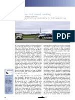 Aircraft design for low cost ground handling