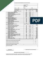 Modelo de Ficha Tecnica de Mantenimiento San Juan