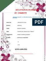 Fuentes de Derecho Laboral BENI