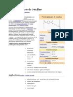 Polytéréphtalate de Butylène