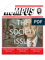The Society Issue 2018