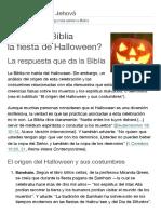 ¿Apoya La Biblia La Fiesta de Halloween_ _ Preguntas Sobre La Biblia