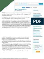 Direito Penal - Dosimetria Da Pena - Artigo - 121072
