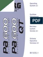 Pa600 UpgradeManual v2.1 EFGIC