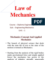 Chapter 2_ Law of Mechanics