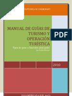 MANUAL DE GUÍAS DE TURISMO Y OPERACIÓN TURÍSTICA