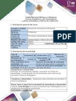 Guía de Actividades y Rúbrica de Evaluación - Tarea 4 - Diseñar Un Blogger Sobre Los Conceptos Principales de La Unidad 3.
