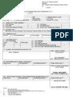 Form Cuti 2018 (KELUAR NEGERII) Dr Yesminilzi
