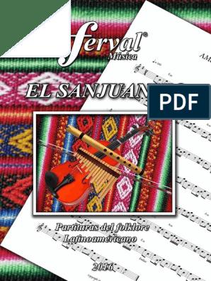 El Sanjuanito Libro I Facebook Pdf Melodía Ecuador