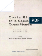 Costa Rica en La Segunda Guerra Mundial 7 de Diciembre de 1941-7 de Diciembre de 1943