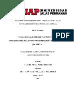 Facultad de Medicina Humana y Ciencias de La Salu1 (Trabajandolo Con Excelente Presentacion )