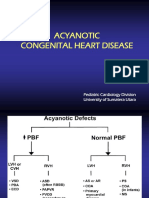 CHD Acyanotic