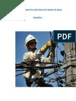 Mantenimiento Eléctrico de Redes de Baja Tensión