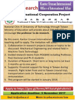 2017-10 NCUT Join Research