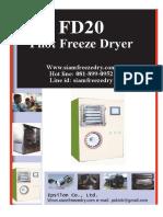Freeze Dryer 20