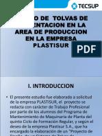 Diseño de Tolvas de Alimentacion en La Area
