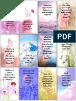 Tarjetitas de Textos Biblicos Para Imprimir