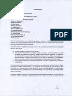 Carta Pública a Las Autoridades Nacionales y Provinciales