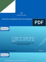 Guida Al Learning Agreement a.a. 2018 2019