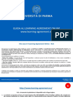 Guida Alla Compilazione Online Learning Agreement - Out