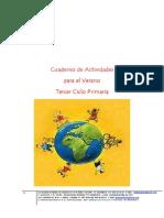Cuaderno de Actividades Verano Tercer Ciclo Primaria