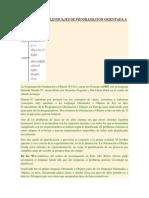 Historia de Los Lenguajes de Programacion Orientada a Objetos