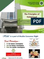 The Principles of Halal Food MUI Food and Beverages - Hendra Utama