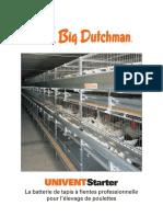 Elevage Depoules Pondeuses Elevage en Batterie UNIVENT Starter Big Dutchman Fr