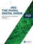 OECD Bridging the Rural Digital Divide