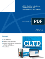 APICS Chicago CLTD One Year After Introduction Webinar 07202017