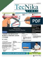 Biotecnika Times Newspaper 10 April 2018