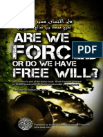 Are We Forced or We Have Free Will by Sheikh Ibn Uthaymin