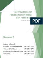 Chapter 8 Perencanaan Dan Pengawasan Produksi Dan Persediaan