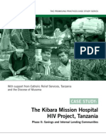 Promising Practices - Kibara Mission Hospital HIV Project - Tanzania