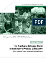 Promising Practices - Kupfuma Ishungu Rural Micro Finance Project - Zimbabwe