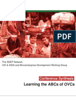 The ABCs of OVCs - Online Conference Synthesis
